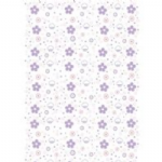 CUPCAKES FILM ROLL  LILAC/PINK  80cm x 100m  FF3655